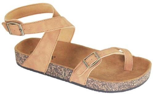 610 Femmes Sandales Chaussures Gladiateur String Tongs T Lanière Plate Bride Glory