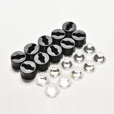 5 degree led Lens for 1W 3W High Power LED with screw 20mm Black holder gt