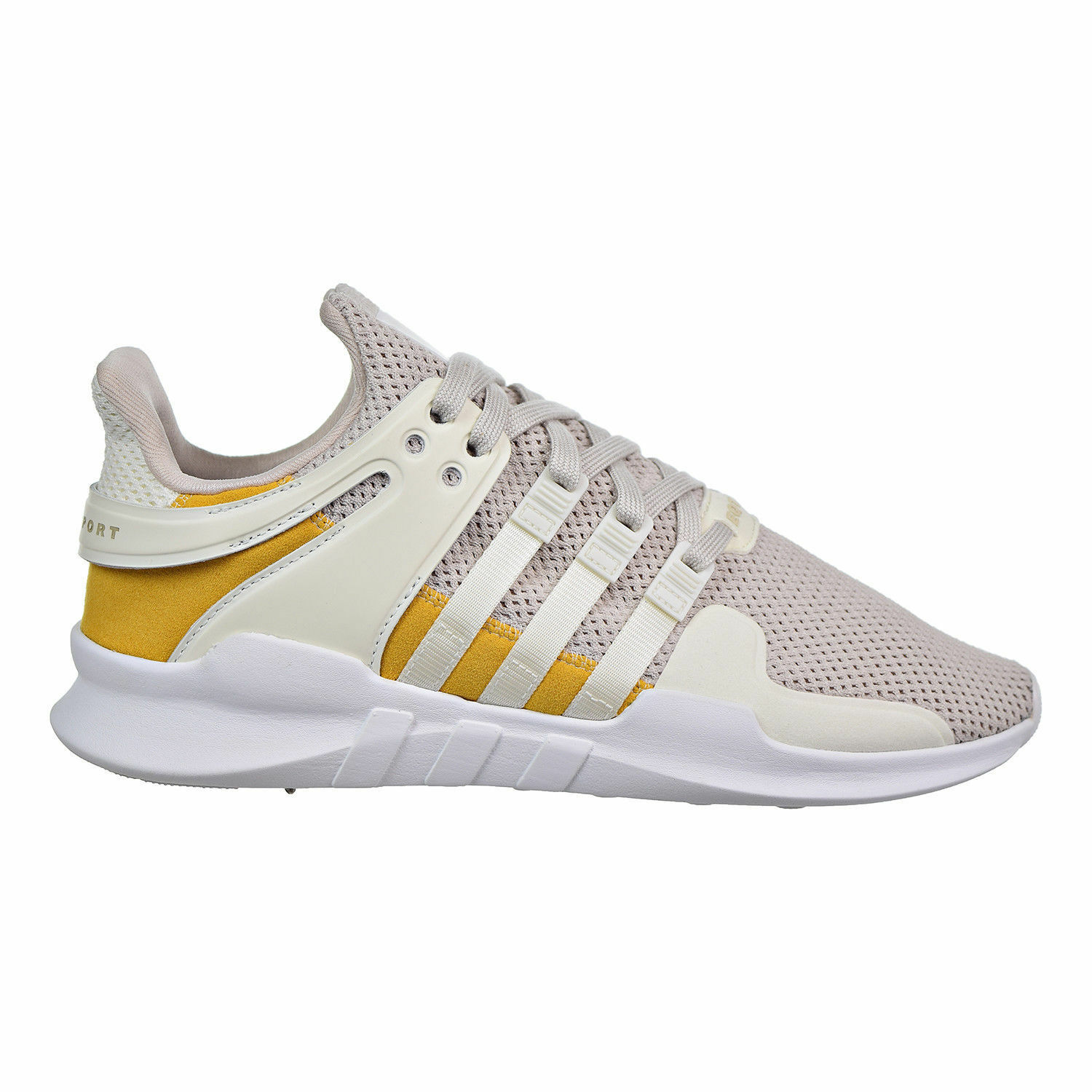 0a239c58182e Adidas EQT Support ADV Off White Tactile Yellow Mens shoes AC7141 ...