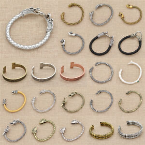 Adjustable-Viking-Cuff-Bangle-Multicolor-Bracelet-Mens-Jewellery-Charm-Gift-1x