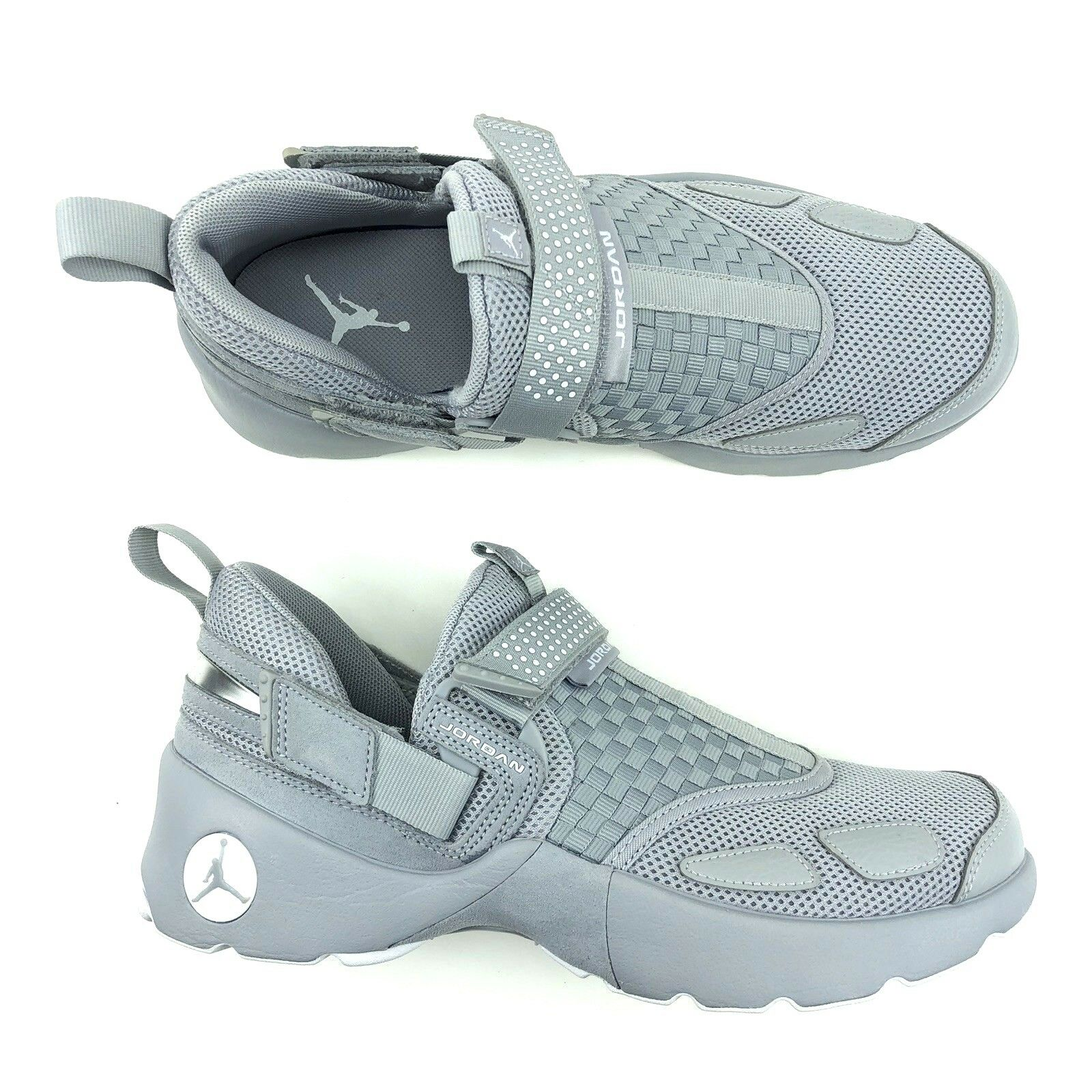 Air Jordan Trunner LX Low Grey White shoes Men Size 8