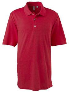Ashworth-Polo-Golf-Men-039-s-EZ-Tech-Short-Sleeve-Textured-Solid-Polo-Shirt-2203C