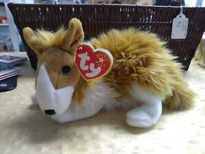 Ty Beanie Baby---Cassie the Collie Dog- 2000~ NEW w/ Tags