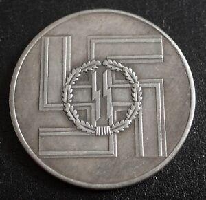WW2-GERMAN-COMMEMORATIVE-COIN-SS