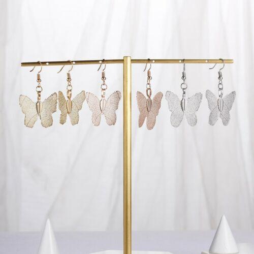 Fashion Femmes spécial Feuilles Leaf Boucles d/'oreilles Handmade Dangle Ear Stud Bijoux Cadeau