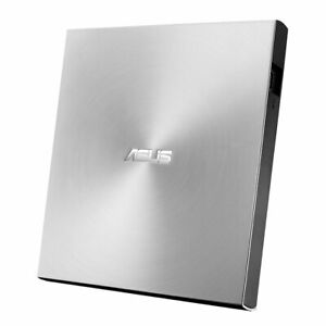 ASUS ZenDrive SDRW-08U7M-U Silber Slim DVD-Brenner, USB 2.0, Silber