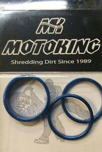 Motoking Bmx Washer Kit Silver