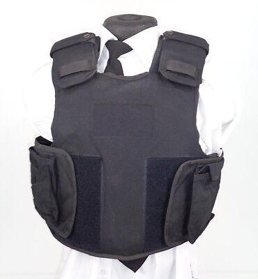 X Police Security Stab Slash Proof Protective Body Armor 3 Panel Set B9 STB1