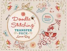 Doodle Stitching: Doodle Stitching Transfer Pack by Aimee Ray (2015, Paperback)