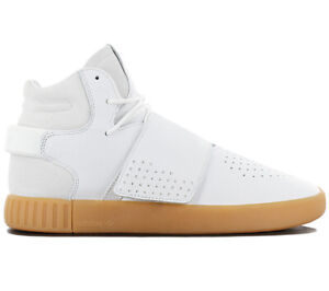 Details zu adidas Originals Tubular Invader Strap Herren Sneaker BY3629 Leder Weiß Schuhe