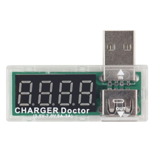 0.91 OLED Screen USB Charger Capacity Power Current Voltage Detector Tester  2p