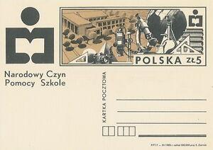 Poland prepaid postcard (Cp 917) help school - Bystra Slaska, Polska - Poland prepaid postcard (Cp 917) help school - Bystra Slaska, Polska