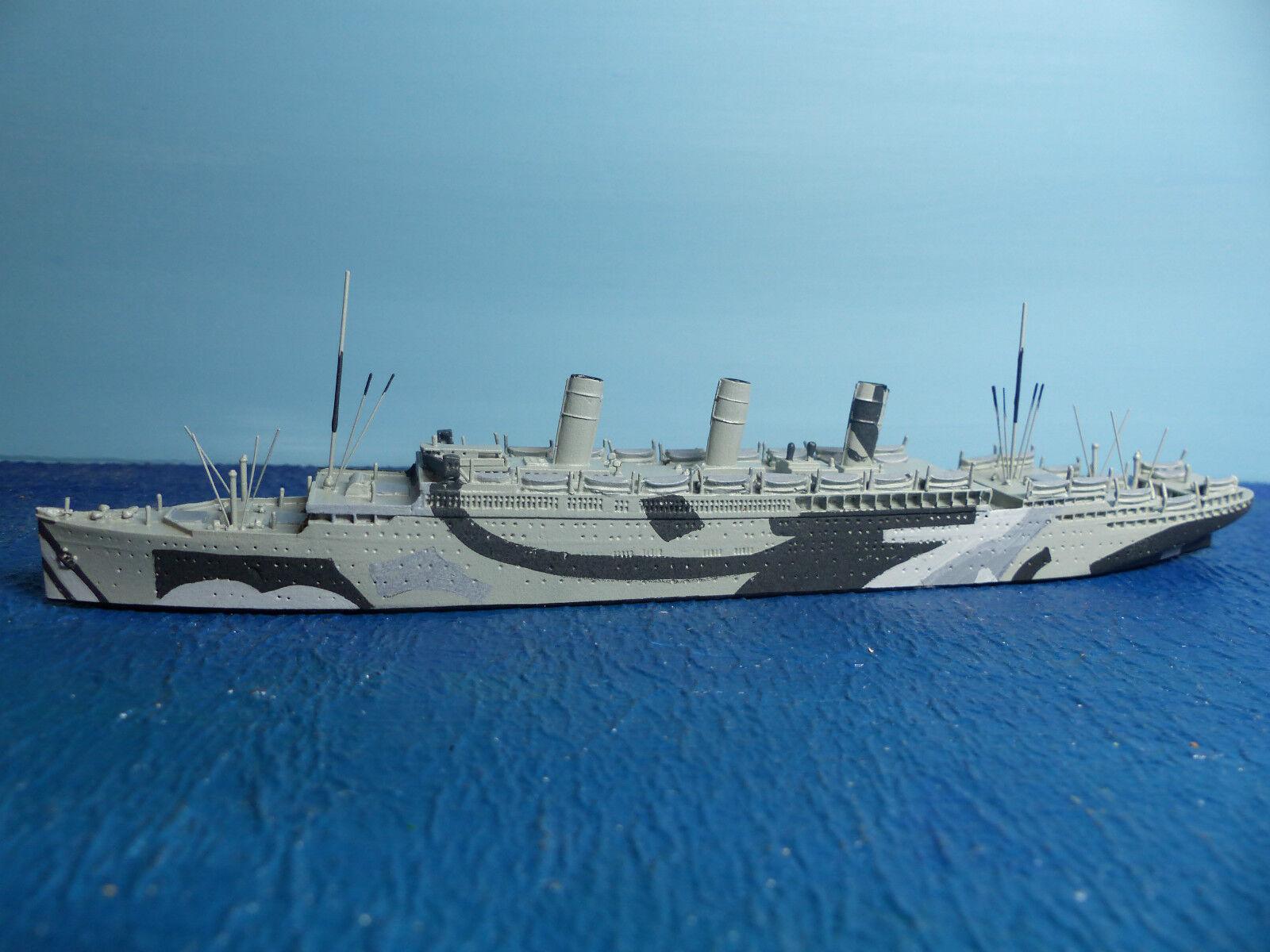 Cm navire 1 1250 Go. troupes Transporteur  Justicia  cm P 38 neuf dans sa boîte
