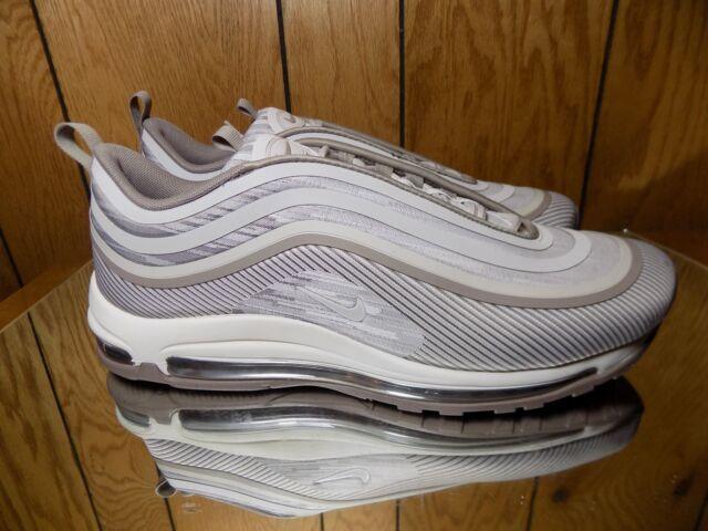 DS Nike Air Max 97 Ultra 17 'sepia Stone' Sz 9 Premium Running Shoes 918356 201