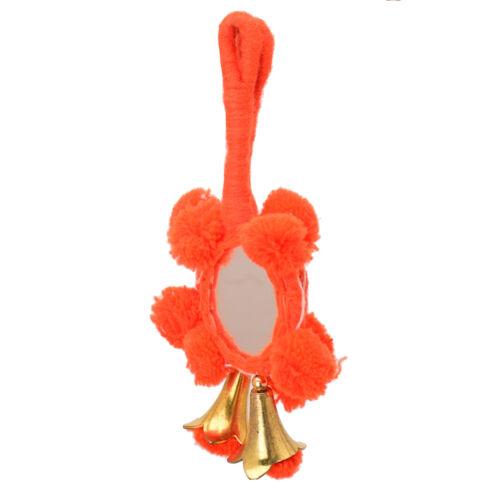 Orange Miroir tasselblouse Saree Accessories Latkan