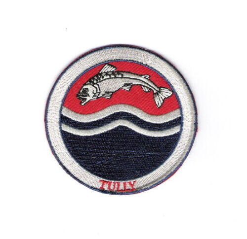 """Game of Thrones HOUSE TULLY Embroidered 3/"""" Patch"""