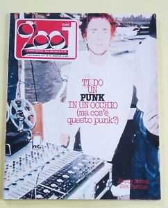 CIAO-2001-N-35-DEL-1977-77-Sex-Pistols-Elvis-Presley-Punk-festivalbar