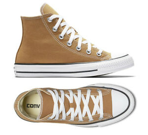 d249f8979f95f6 Converse All Star Chuck Taylor Shoes Unisex Hi Top Raw Sugar Brown ...