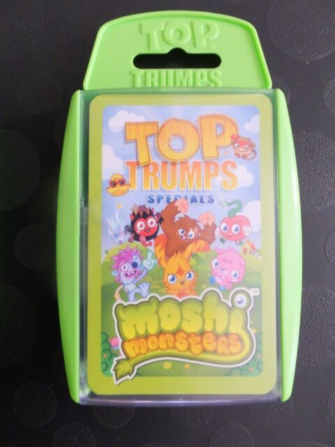 Moshi Monsters Top Trumps Specials New Sealed
