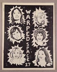 WARPED-SPACE-17-Fanzine-Star-Trek-TOS-GEN-1976-First-MSU-Star-Trek-Club