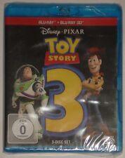 Toy Story 3 in 3D  Blu Ray NEU Disney 3-Disc Set