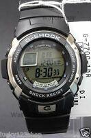 G-7700-1D Black Casio Men's Watch Resin G-Shock Mechanical design Digital 200m