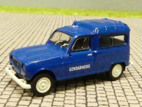 1//87 Brekina Renault R4 Fourgonnette Gendarmerie F  14719