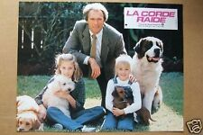 CLINT EASTWOOD  LOBBY CARD  LA CORDE RAIDE