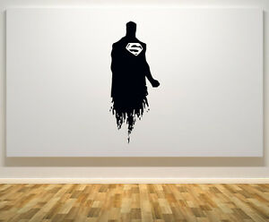 Beau Image Is Loading Justice League Superman Super Hero Bedroom Decal Wall