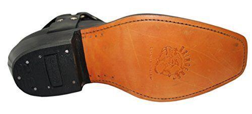 Grinder con pelle western Harness donna in cowboy Stivaletti da caviglia Lo Stivaletti da PItn4w6