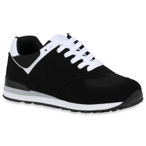 Damen Sportschuhe Laufschuhe Fitness Sneaker Schnürer Turnschuhe 833552 Schuhe