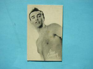 1947-66-TELEVISION-amp-ACTORS-EXHIBIT-CARD-PHOTO-SEAN-CONNERY-SHARP-EXHIBITS
