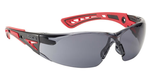 Smoke Lens Bolle RUSH+ Safety Glasses RUSHPPSF UV Eye Protection