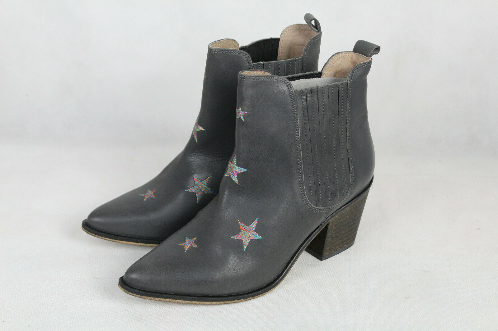 Heine cuero-botines chelsea-botas damas, talla 39,neu, LP