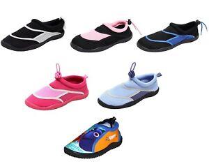 Damen-Herren-Kinder-Aquaschuhe-Neopren-Wasserschuhe-Surfschuhe-Strand-Schuhe