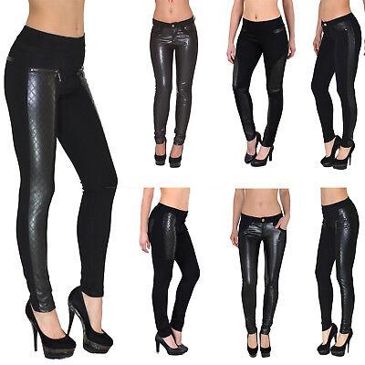Pantaloni JEANS DONNA STRETCH Donna Jeans a Sigaretta Pantaloni Jeans Skinny hüftjeans TUBO j90
