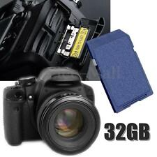 32GB High Speed SD Memory Card Secure Storage Class 10 For Laptop Digital Camera