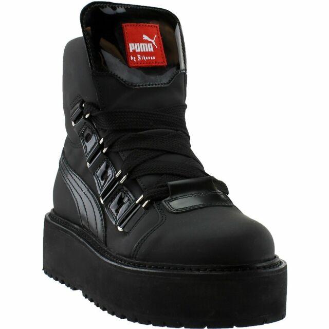 save off de2c9 50233 PUMA X Fenty by Rihanna SB Eyelet Platform Unisex Sneaker BOOTS Sz 9 27cm