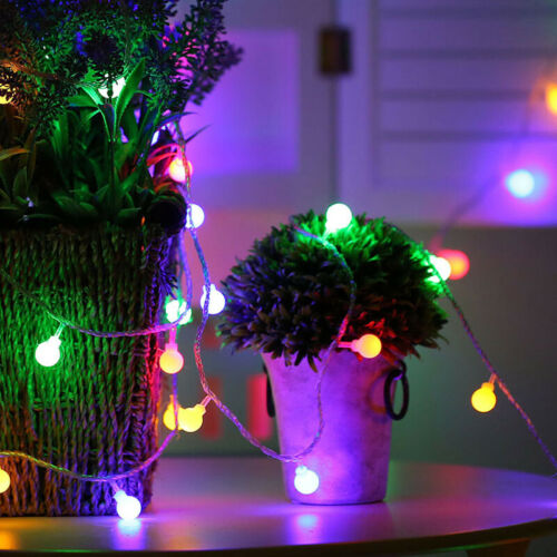 10M Connectable Berry Balls LED String Fairy Light in//outdoor Xmas Party Decor