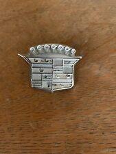66 67 68 Cadillac Deville Eldorado Trunk Crest Assembly Lock Cylinder /& Keys NEW