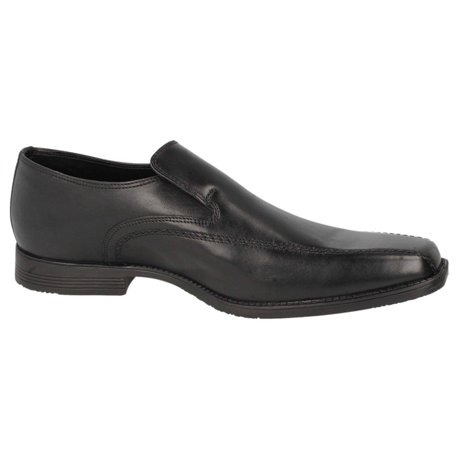 Herren schwarz Leder Hineinschlüpfen Clarks OUT Schuhe Acre OUT Clarks dcfa8d