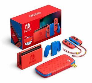 Nintendo Switch Mario Red & Blue Edition - 32GB - HADSRAAAF