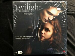 TWILIGHT-THE-MOVIE-BOARD-GAME-New-amp-Factory-Sealed-2009-Cardinal-Games
