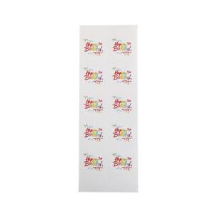 100PCS-Rainbow-Happy-Birthday-Kraft-seal-sticker-DIY-package-gift-Label-Stickers