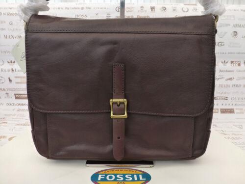 Bag Depender Rp Fossil £ Ledertasche 189 Messenger Braune Dk Slim Schultertasche qAErE8wt