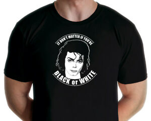 Michael Jackson - Black or White T-shirt (Jarod Art Design)