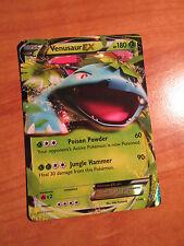 NM Pokemon VENUSAUR EX Card XY X and Y Base Set 1/146 Ultra Rare Holo TCG 180 HP