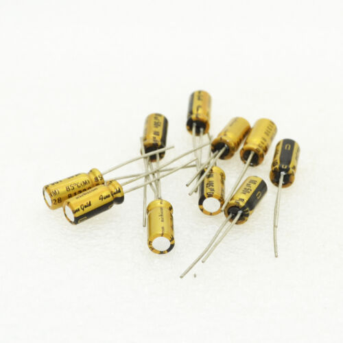 10pcs For Nichicon FG 10uF//50V 5*11mm Audio Electrolytic Capacitor 6131