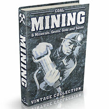 Mining Books 166 Vintage Books on DVD Coal Minerals Gems Gold Silver Prospecting
