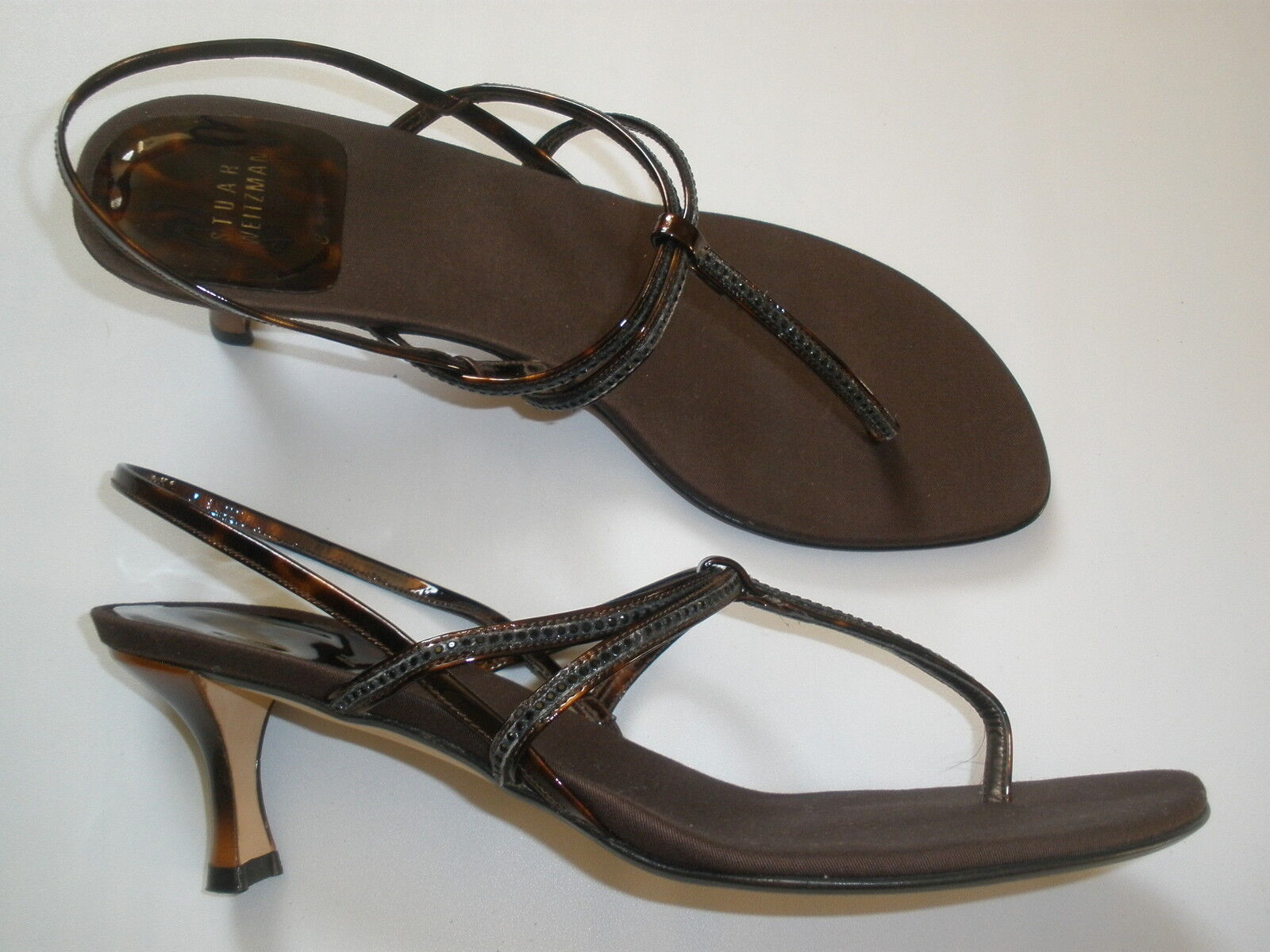 acquistare ora   279 STUART WEITZMAN WEITZMAN WEITZMAN ANKLE SANDALS  HEELS Dimensione 8  SALE  HOT MADE IN SPAIN  promozioni